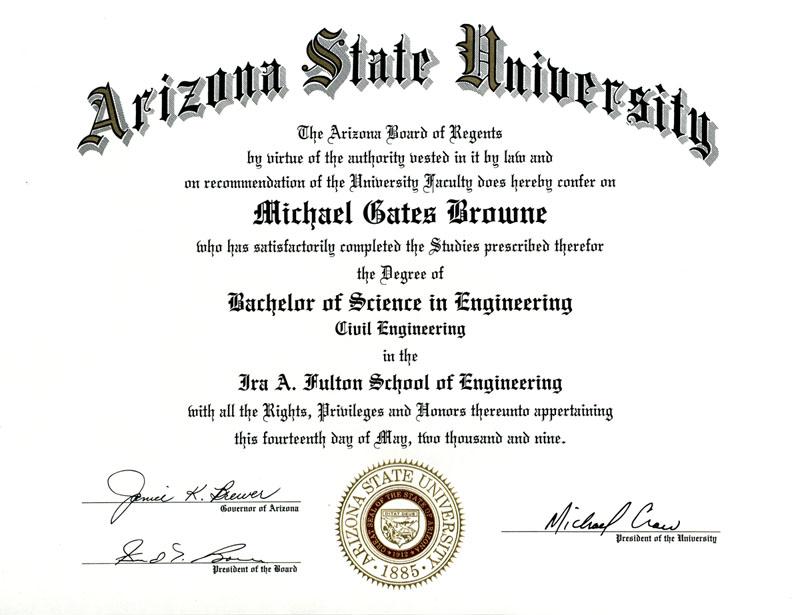 doctorate certificate template - Londa.britishcollege.co